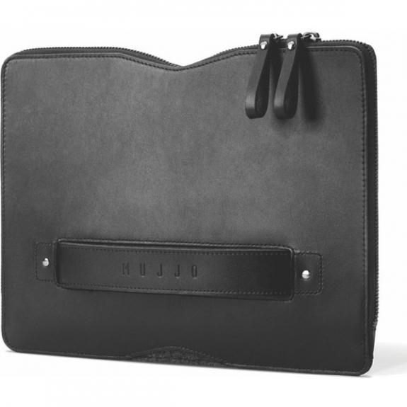 """Mujjo Carry-On Folio Sleeve brašna pro MacBook 12"""" (A1534) - černá MUJJO-SL-090-BK - možnost vrátit zboží ZDARMA do 30ti dní"""