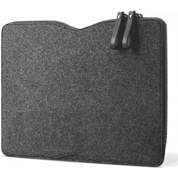 """MUJJO Folio Sleeve pro 13"""" Macbook Pro - černá MUJJO-SL-100-BK - možnost vrátit zboží ZDARMA do 30ti dní"""