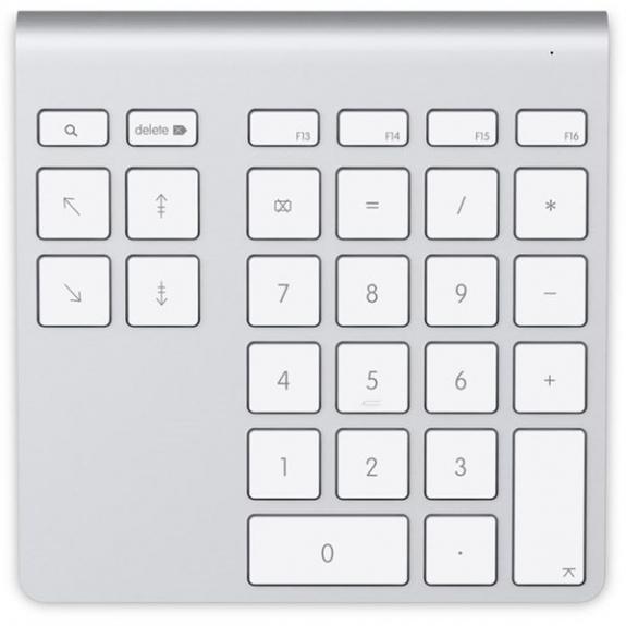 Belkin hliníková Bluetooth numerická klávesnice pro iMac / MacBook F8T068vf - možnost vrátit zboží ZDARMA do 30ti dní