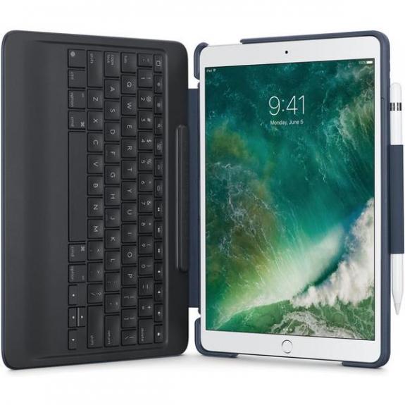 """Logitech Slim Combo pouzdro s odnímatelnou klávesnicí pro Apple iPad Pro 10.5"""" - modrá 920-008416 - možnost vrátit zboží ZDARMA do 30ti dní"""