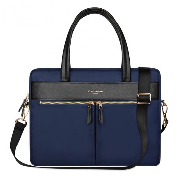 """Cartinoe stylová kabelka pro MacBookPro 15.4"""" - tmavě modrá - možnost vrátit zboží ZDARMA do 30ti dní"""