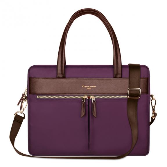 """Cartinoe stylová kabelka pro MacBookPro 15.4"""" - vínová - možnost vrátit zboží ZDARMA do 30ti dní"""