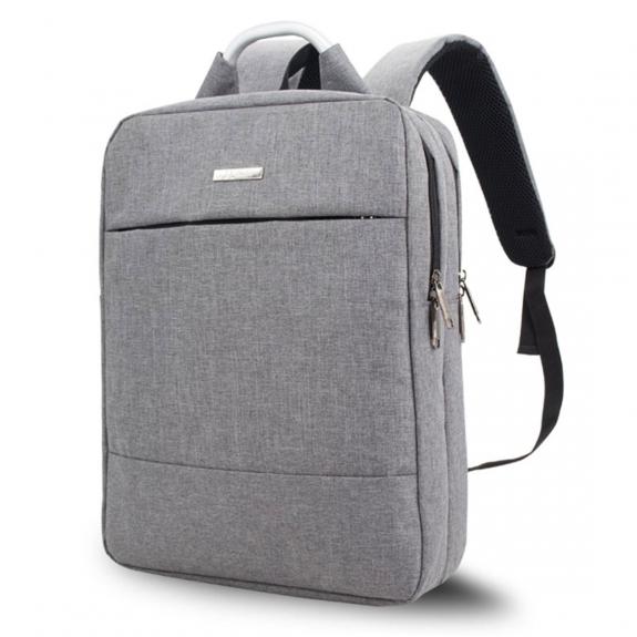 """Shinlee elegantní multifunkční batoh pro MacBook 15"""" - šedý - možnost vrátit zboží ZDARMA do 30ti dní"""