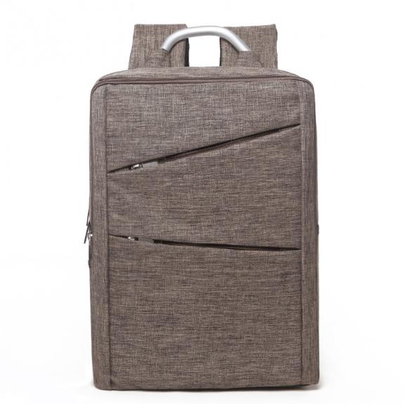 AppleKing multifunkční batoh pro MacBook (40 x 28 x 12cm) - khaki - možnost vrátit zboží ZDARMA do 30ti dní