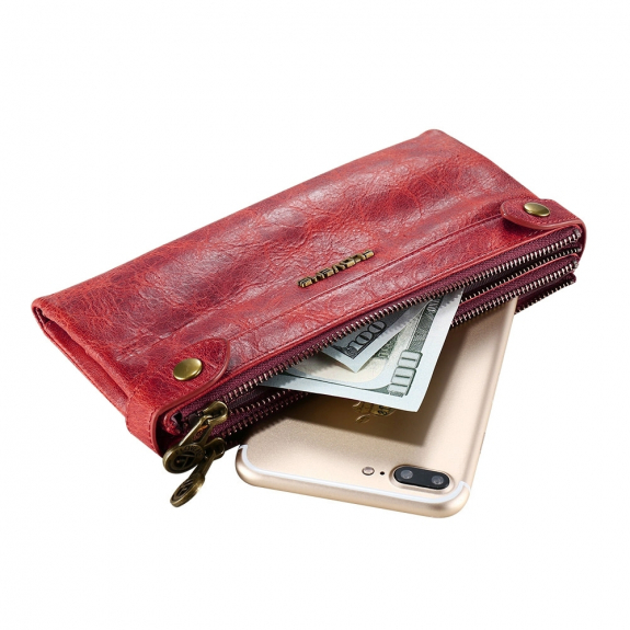 FLOVEME univerzální kapsa na zip pro iPhone - červená - možnost vrátit zboží ZDARMA do 30ti dní