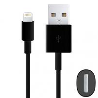 Synchronizační a nabíjecí kabel lightning pro iPhone / iPad / iPod - 2m - černý
