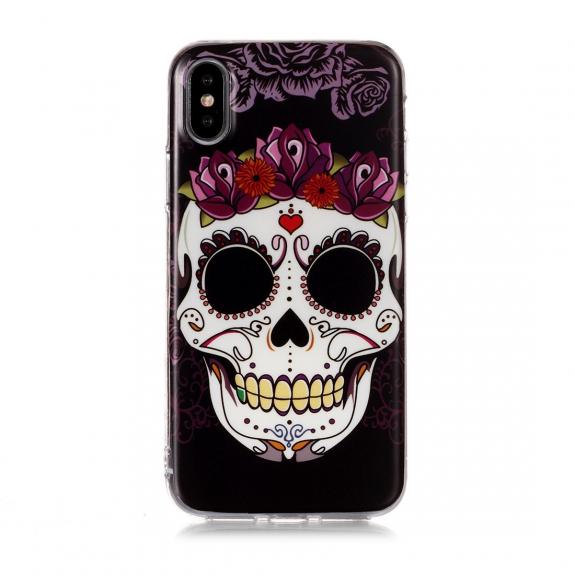AppleKing kryt pro iPhone X / XS - Santa Muerte - možnost vrátit zboží ZDARMA do 30ti dní