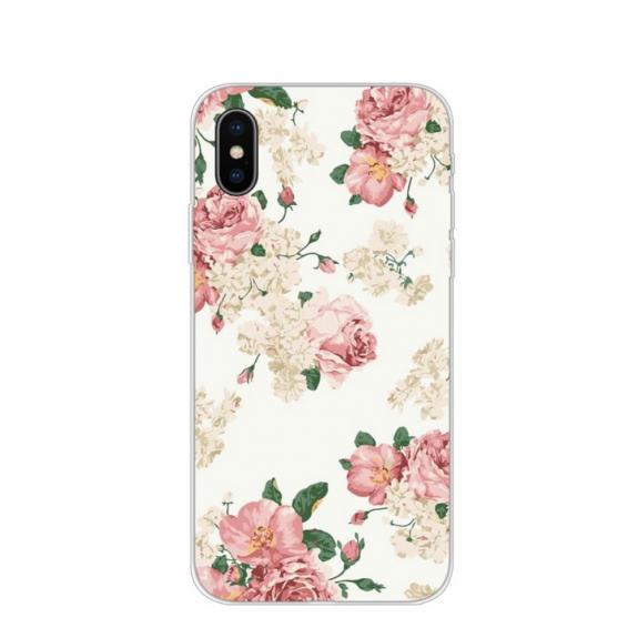 AppleKing ochranný kryt pro iPhone XS Max - květiny - možnost vrátit zboží ZDARMA do 30ti dní