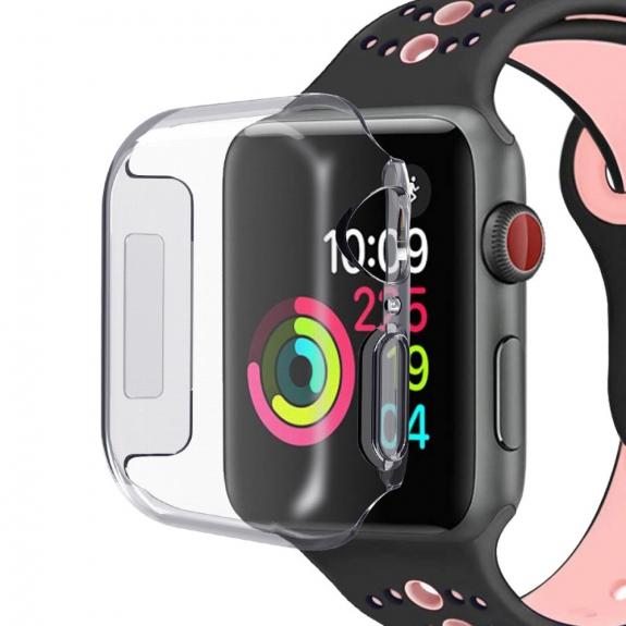 AppleKing pouzdro pro Apple Watch s ochranou displeje - 44mm - 4. generace - možnost vrátit zboží ZDARMA do 30ti dní