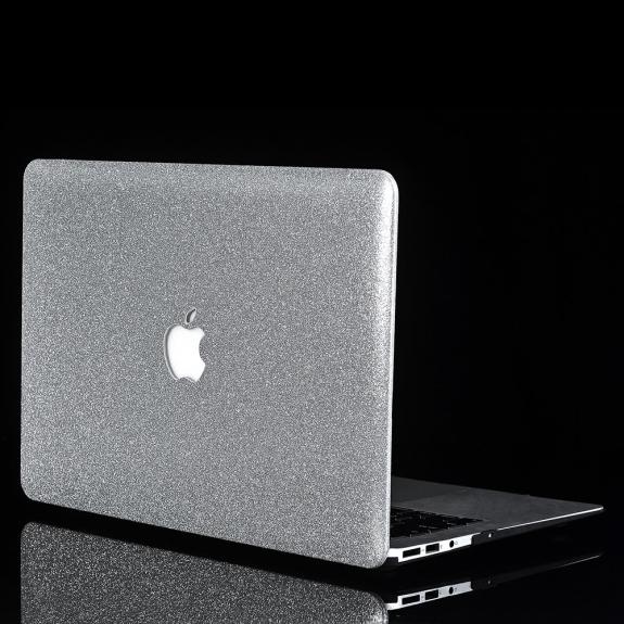 """AppleKing třpytivý kryt pro MacBook Air 11,6"""" (A1370/ A1465) - stříbrná - možnost vrátit zboží ZDARM"""