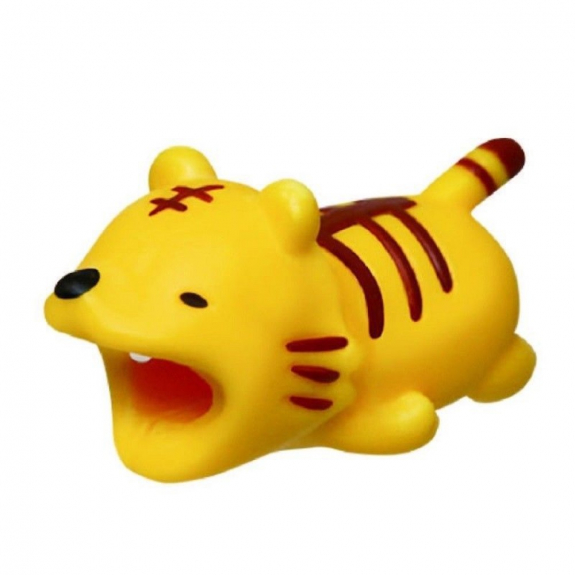 AppleKing ochrana kabelů - zvířátka - tygr - možnost vrátit zboží ZDARMA do 30ti dní
