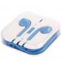 Sluchátka s mikrofonem a dálkovým ovládáním pro Apple zařízení - modrá