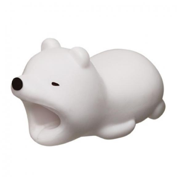 AppleKing ochrana kabelů - zvířátka - lední medvěd - možnost vrátit zboží ZDARMA do 30ti dní