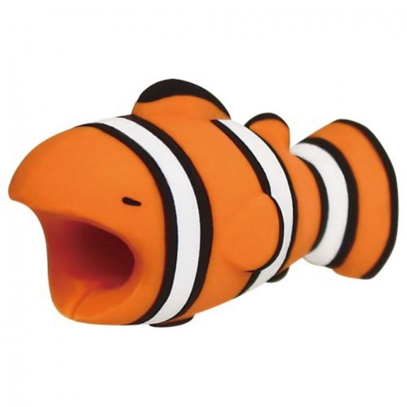 AppleKing ochrana kabelů - zvířátka - klaun očkatý - možnost vrátit zboží ZDARMA do 30ti dní