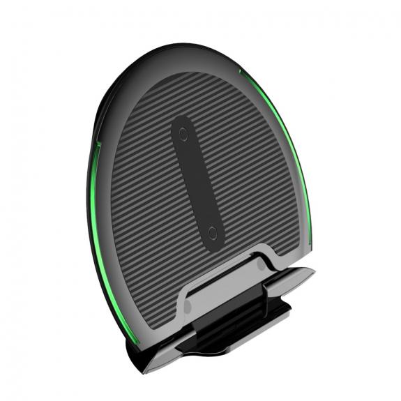 AppleKing bASEUS skládací bezdrátová nabíječka / stojánek pro iPhone - černá - možnost vrátit zboží ZDARMA do 30ti dní