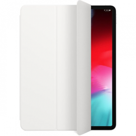 """Originální Apple iPad Pro 12,9"""" Smart Folio obal bílý MRXE2ZM/A - možnost vrátit zboží ZDARMA do 30ti dní"""