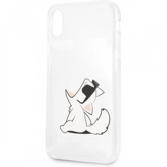Karl Lagerfeld Fun Choupette No Rope Hard Case kryt pro iPhone XR - čirý 3700740435991 - možnost vrátit zboží ZDARMA do 30ti dní