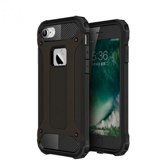"AppleKing super odolný ""Armor"" kryt na Apple iPhone 8 / 7 - černý - možnost vrátit zboží ZDARMA do 30ti dní"