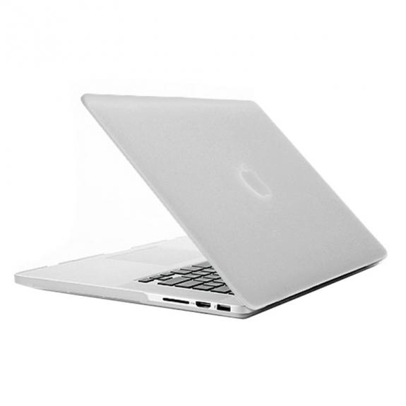 """AppleKing tvrzený ochranný plastový obal / kryt pro Apple Macbook Pro Retina 13.3"""" - průhledný - možnost vrátit zboží ZDARMA do 30ti dní"""