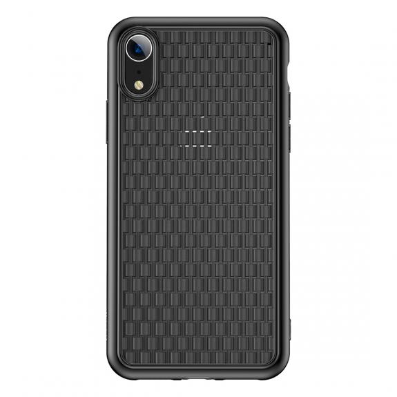 BASEUS Wave kryt pro iPhone XR - černá - možnost vrátit zboží ZDARMA do 30ti dní