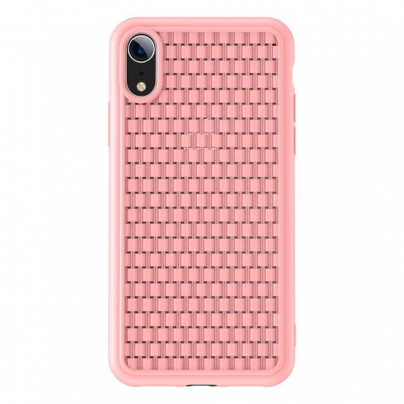 BASEUS Wave kryt pro iPhone XR - růžová - možnost vrátit zboží ZDARMA do 30ti dní