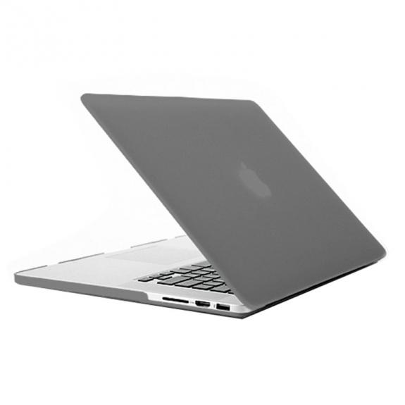 """AppleKing tvrzený ochranný plastový obal / kryt pro Apple Macbook Pro Retina 13"""" - šedý - možnost vrátit zboží ZDARMA do 30ti dní"""
