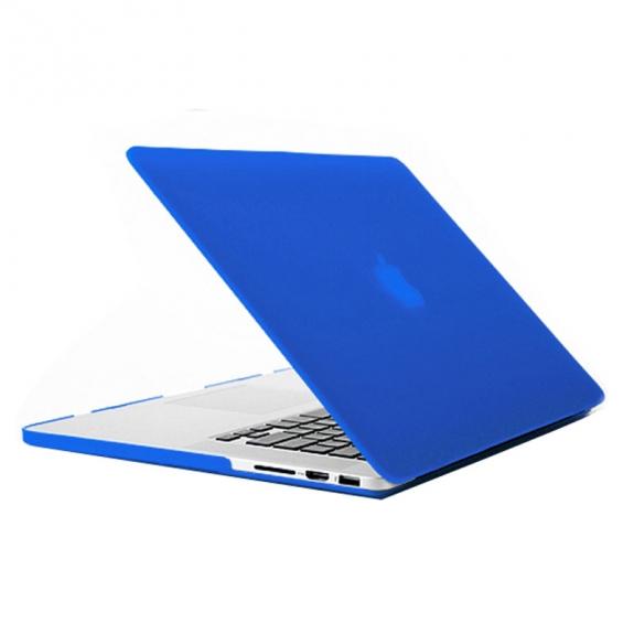 """AppleKing tvrzený ochranný plastový obal / kryt pro Apple Macbook Pro Retina 13.3"""" – modrý - možnost vrátit zboží ZDARMA do 30ti dní"""