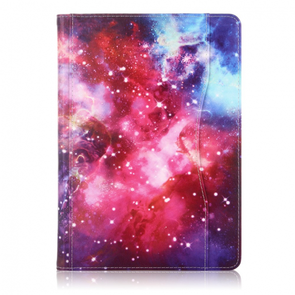 """AppleKing pouzdro pro iPad 9.7"""" (2017/2018) / Pro 9.7"""" / Air 1 / 2 - galaxie - možnost vrátit zboží ZDARMA do 30ti dní"""