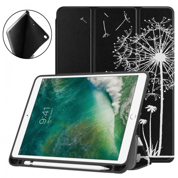 """AppleKing pouzdro pro iPad 9.7"""" (2017/2018) / Pro 9.7"""" / Air 1 / 2 a Pencil - děti a pampeliška - možnost vrátit zboží ZDARMA do 30ti dní"""