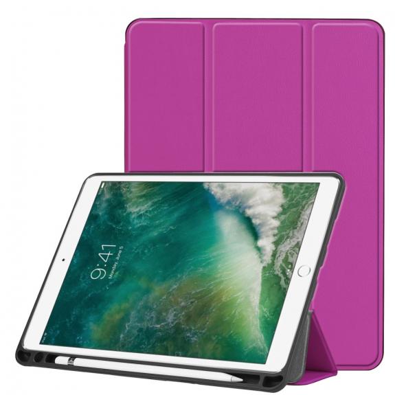 """AppleKing ochranné pouzdro s prostorem pro Apple Pencil pro Apple iPad Air 3 (2019) / iPad Pro 10,5"""" - fialová - možnost vrátit zboží ZDARMA do 30ti dní"""