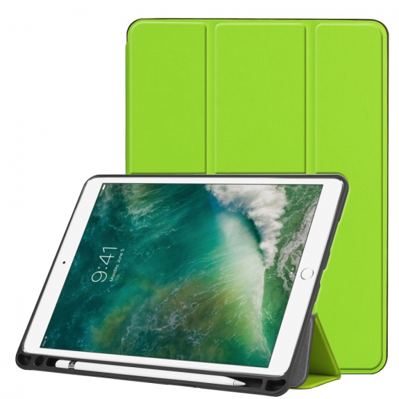 """AppleKing ochranné pouzdro s prostorem pro Apple Pencil pro Apple iPad Pro 10.5"""" - zelená - možnost vrátit zboží ZDARMA do 30ti dní"""
