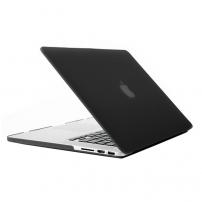 """Tvrzený ochranný plastový obal / kryt pro Apple Macbook Pro Retina 13"""" - černý"""