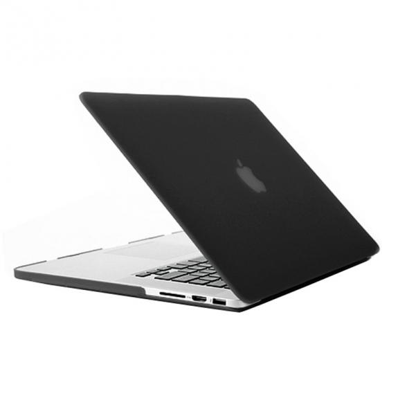 """AppleKing tvrzený ochranný plastový obal / kryt pro Apple Macbook Pro Retina 13"""" - černý - možnost vrátit zboží ZDARMA do 30ti dní"""