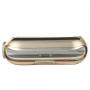 BASEUS ultra tenké gumové pouzdro pro Apple Watch 42mm (tl. 0,65mm) - zlatě průhledné