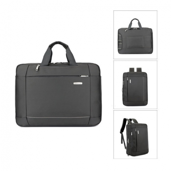 AppleKing luxusní brašna / batoh pro Macbook (43 x 32 x 10cm) - šedá - možnost vrátit zboží ZDARMA do 30ti dní