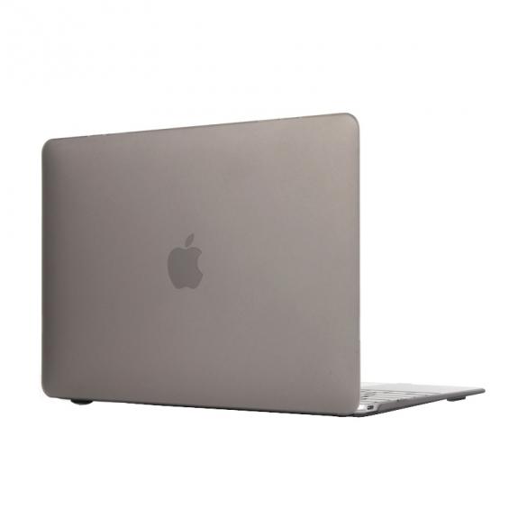 """AppleKing tvrzený ochranný plastový obal / kryt pro Apple Macbook 12"""" - šedý - možnost vrátit zboží ZDARMA do 30ti dní"""