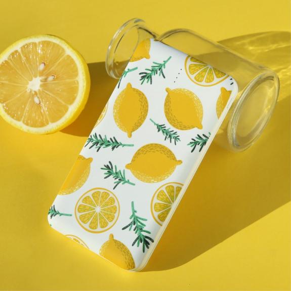 AppleKing uSAMS powerbanka 10000mAh - citrónová - možnost vrátit zboží ZDARMA do 30ti dní