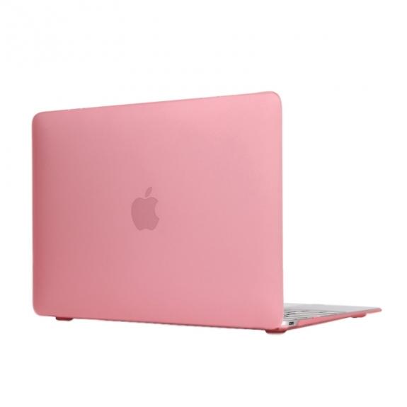 """AppleKing tvrzený ochranný plastový obal / kryt pro Apple Macbook 12"""" - růžový - možnost vrátit zboží ZDARMA do 30ti dní"""