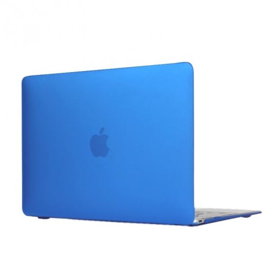 """AppleKing tvrzený ochranný plastový obal / kryt pro Apple Macbook 12"""" - tmavě modrý - možnost vrátit zboží ZDARMA do 30ti dní"""