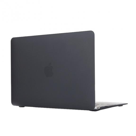 """AppleKing tvrzený ochranný plastový obal / kryt pro Apple Macbook 12"""" - černý - možnost vrátit zboží ZDARMA do 30ti dní"""