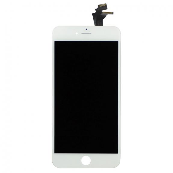 AppleKing náhradní LCD displej s dotykovým sklem a rámečkem pro Apple iPhone 6 Plus - TOP kvalita - bílý - možnost vrátit zboží ZDARMA do 30ti dní