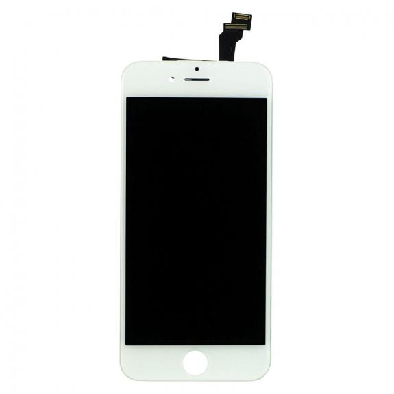 AppleKing náhradní LCD displej s dotykovým sklem a rámečkem pro Apple iPhone 6 - TOP kvalita - bílý - možnost vrátit zboží ZDARMA do 30ti dní