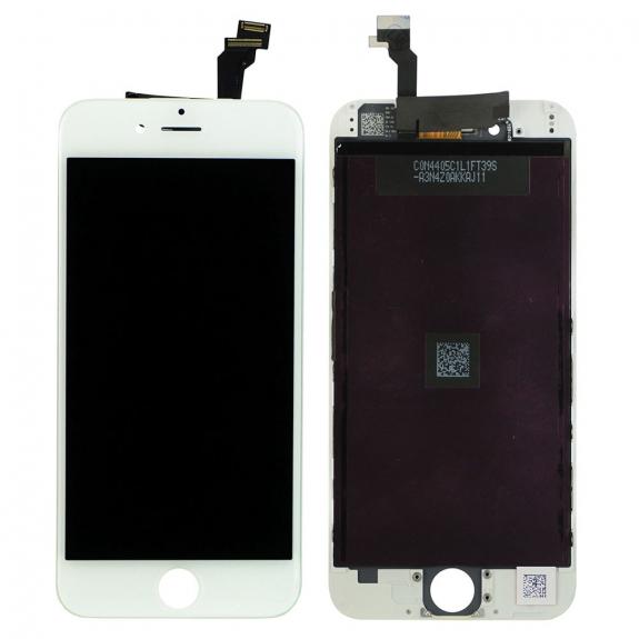 AppleKing refurbished Original LCD displej s dotykovým sklem a rámečkem pro Apple iPhone 6 - bílý - možnost vrátit zboží ZDARMA do 30ti dní