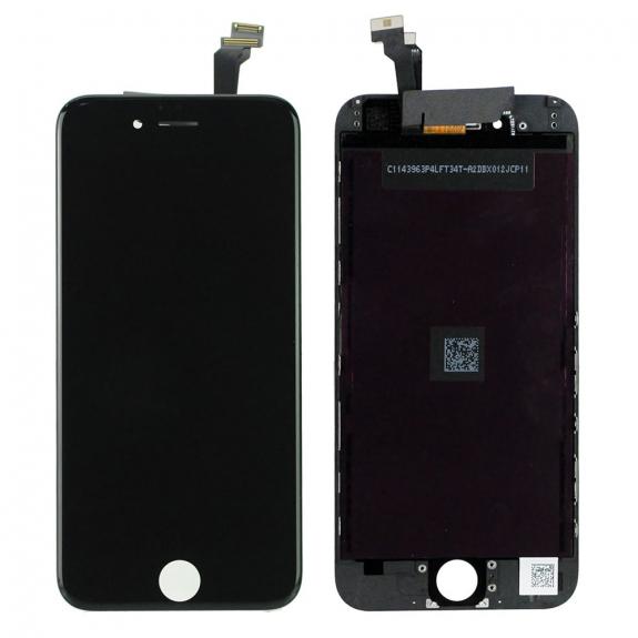 AppleKing refurbished Original LCD displej s dotykovým sklem a rámečkem pro Apple iPhone 6 - černý - možnost vrátit zboží ZDARMA do 30ti dní