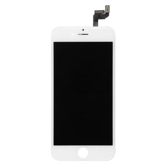 AppleKing premium LCD displej s dotykovým sklem a rámečkem pro Apple iPhone 6S - bílý - možnost vrátit zboží ZDARMA do 30ti dní