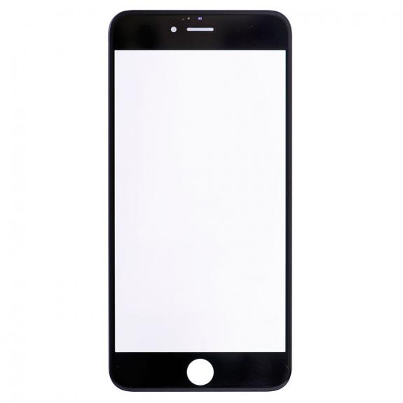 AppleKing přední dotykové sklo, včetně OCA lepidla, POL filmu, rámečků pro přední fotoaparát, proximity sensor a mřížky pro sluchátko, pro iPhone 6S Plus - černá - možnost vrátit zboží ZDARMA do 30ti dní