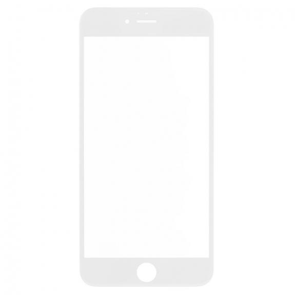 AppleKing přední dotykové sklo, včetně OCA lepidla, POL filmu, rámečků pro přední fotoaparát, proximity sensor a mřížky pro sluchátko, pro iPhone 6S Plus - bílá - možnost vrátit zboží ZDARMA do 30ti dní