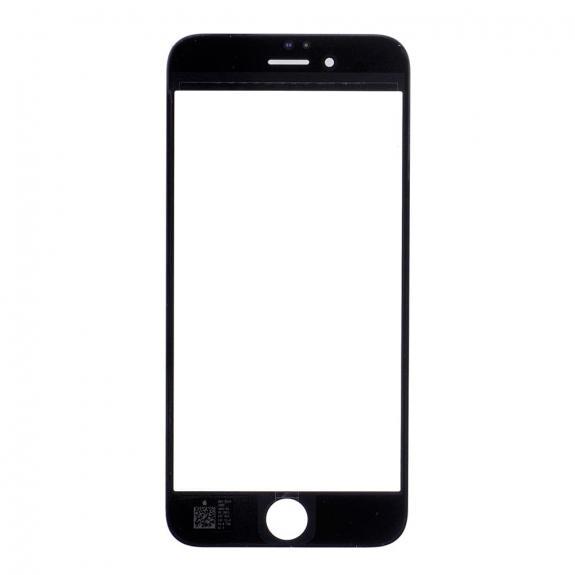 AppleKing přední dotykové sklo, včetně OCA lepidla, POL filmu, rámečků pro přední fotoaparát, proximity sensor a mřížky pro sluchátko, pro iPhone 6S - černá - možnost vrátit zboží ZDARMA do 30ti dní