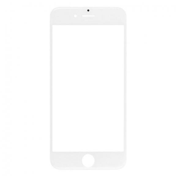 AppleKing přední dotykové sklo, včetně OCA lepidla, POL filmu, rámečků pro přední fotoaparát, proximity sensor a mřížky pro sluchátko, pro iPhone 6 - bílá - možnost vrátit zboží ZDARMA do 30ti dní