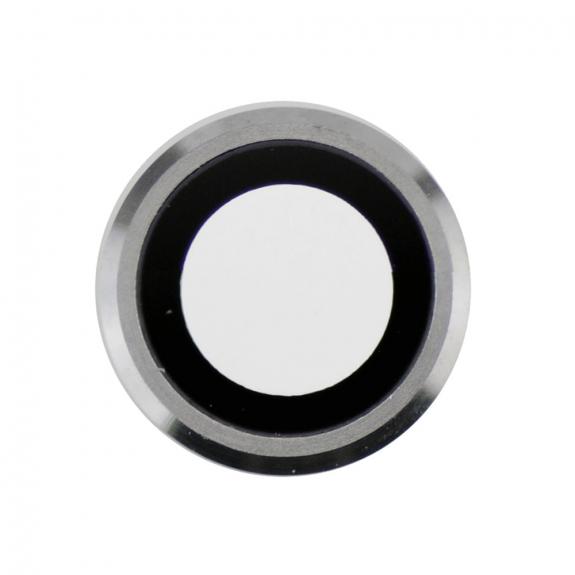 AppleKing Čočka fotoaparátu s rámečkem a LED difuzorem pro iPhone 6 Plus - stříbrná - možnost vrátit